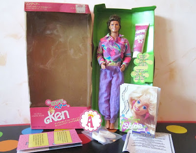 Ken doll by Mattel Barbie from 1990s Ultra Hair Series