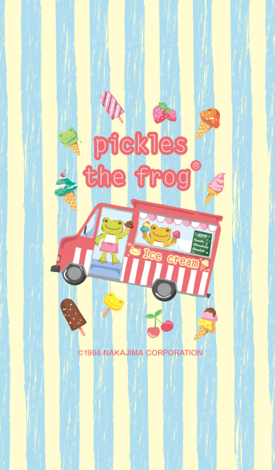 pickles the frog -Ice Cream Shop-