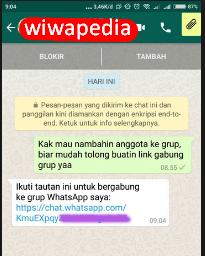 Cara Mudah Masuk Grup Whatsapp Tanpa Admin   Wiwapedia