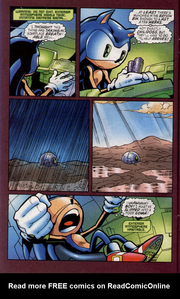 Read online Sonic The Hedgehog comic -  Issue #127 - 10