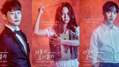 Lovely Horribly, Drama Korea, Korean Drama, Drama Korea 2018, Korean Drama Lovely Horribly, Sinopsis Drama Korea Lovely Horribly, Song Ji Hyo Drama, Channel KBS World, Poster Drama Lovely Horribly, Lovely Horribly Cast, Pelakon Drama Korea Lovely Horribly, Park Si Hoo, Song Ji Hyo, Lee Gi Kwang, Ham Eun Jung, Choi Yeo Jin, Hwang Sun Hee, Jang Young Nam, Sung Doo Sub, Lovely Horribly Review, Horror Romantic Comedy,