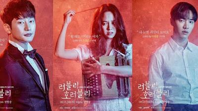 Lovely Horribly, Drama Korea, Korean Drama, Drama Korea 2018, Korean Drama Lovely Horribly, Sinopsis Drama Korea Lovely Horribly, Song Ji Hyo Drama, Channel KBS World, Poster Drama Lovely Horribly, Lovely Horribly Cast, Pelakon Drama Korea Lovely Horribly, Park Si Hoo, Song Ji Hyo, Lee Gi Kwang, Ham Eun Jung, Choi Yeo Jin, Hwang Sun Hee, Jang Young Nam, Sung Doo Sub, Lovely Horribly Review, Horror Romantic Comedy,