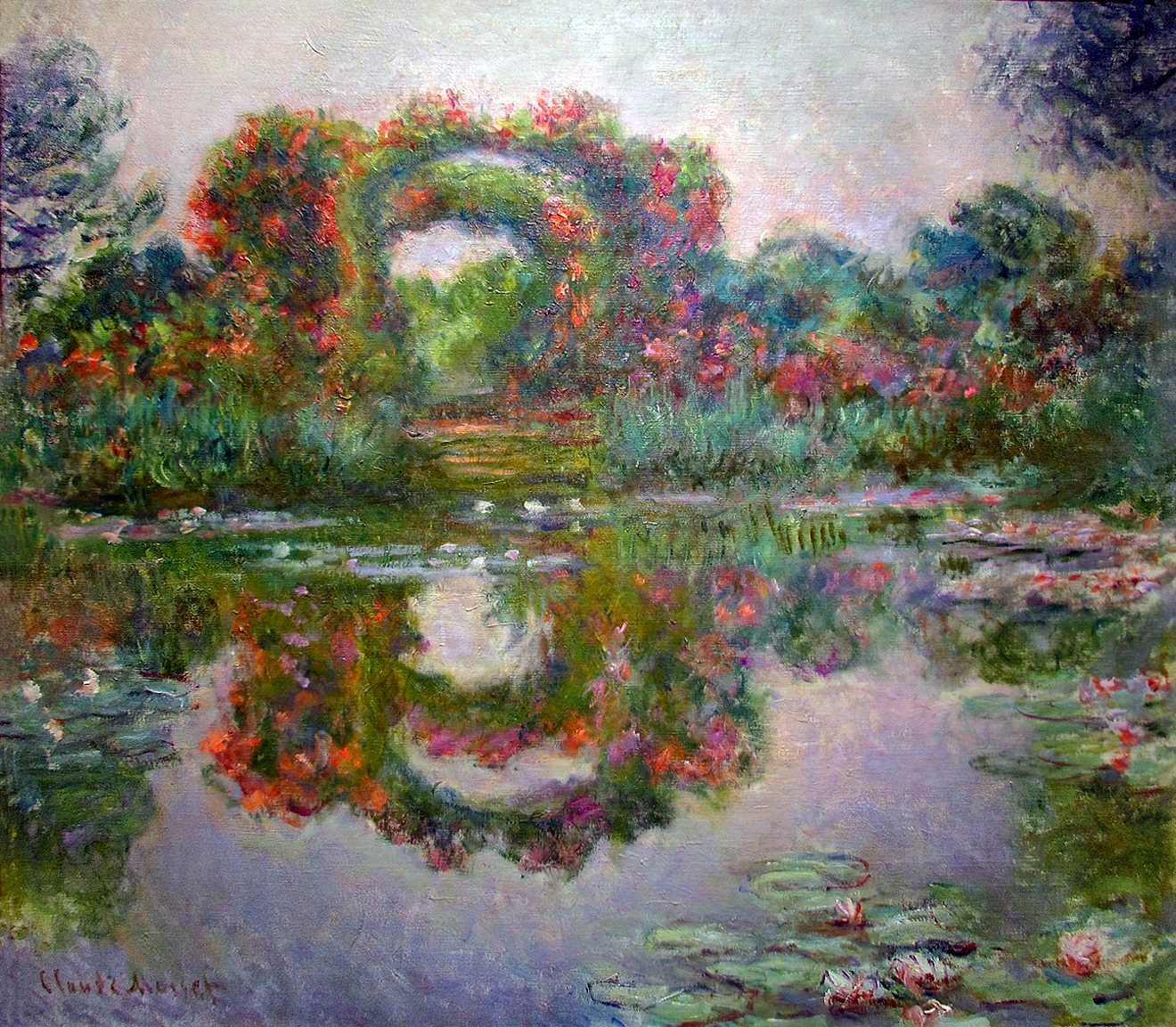 Claude Monet Cuadros Monet My Garden Is My Most Beautiful Masterpiece Part