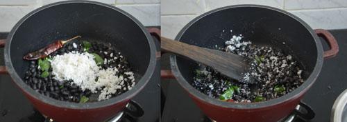 black beans sundal