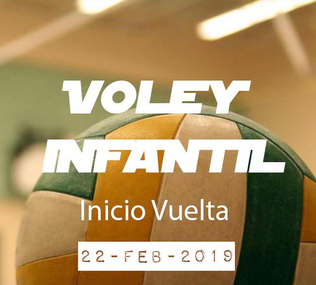 VOLEY INFANTIL: Inicio Vuelta