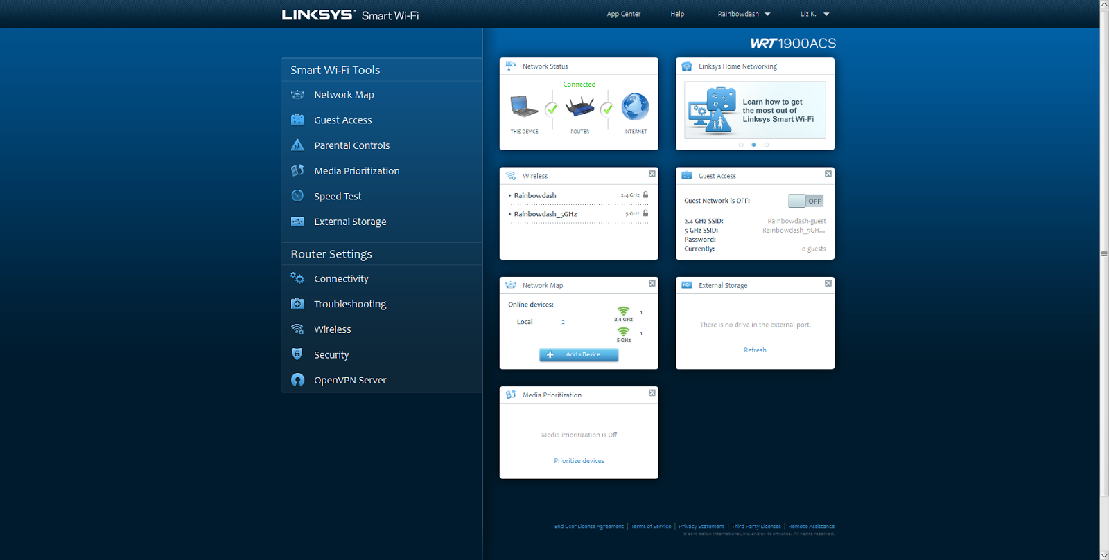 Linksys WRTACS1900 review stock vs DDWRT firmware