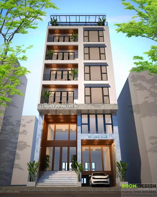 Hợp đồng làm dự toán cho căn hộ cao