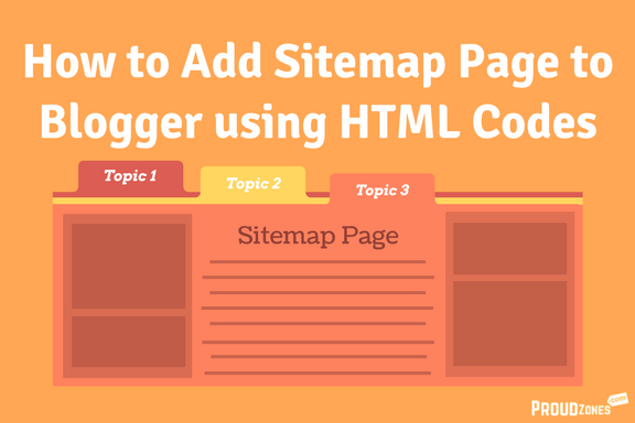 Adding sitemap page to blogger