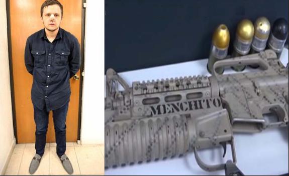 """A """"El Menchito"""" lo quieren mandar a prisión en Jalisco tierra donde manda su padre El Mencho y su CJNG"""