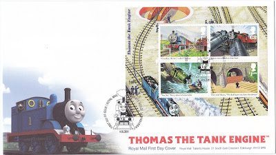 Thomas the Tank Engine First Day Cover