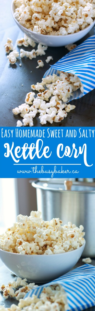 Sweet And Salty Kettle Corn Recipe The Busy Baker
