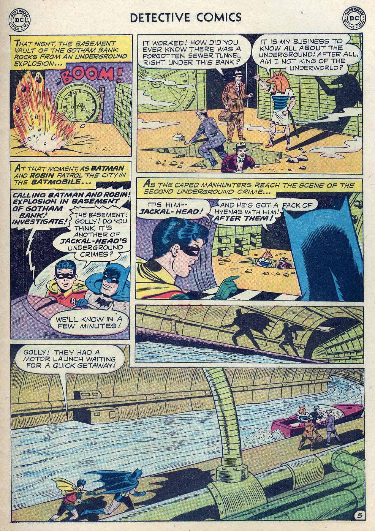 Read online Detective Comics (1937) comic -  Issue #262 - 7