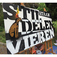 Live Painting in Klooster Zwolle