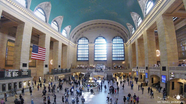 My Travel Background : Une semaine à New York - Grand Central Terminal
