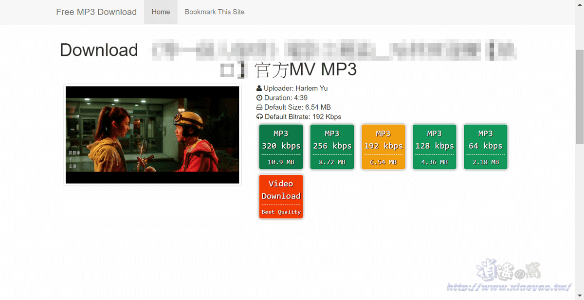 MP3Download.center 免費MP3下載器