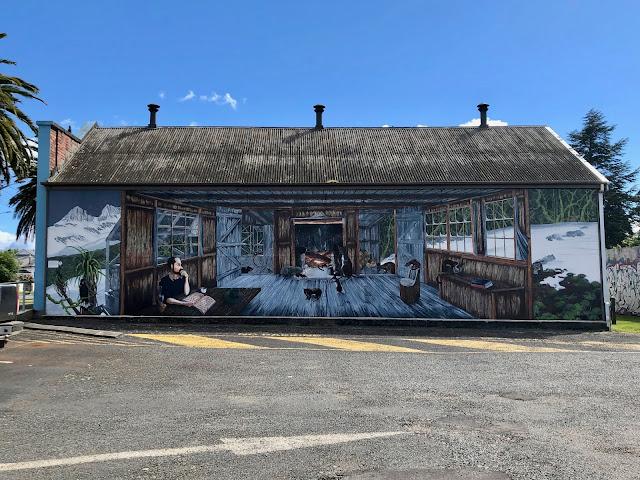 Sheffield Tasmania Mural town