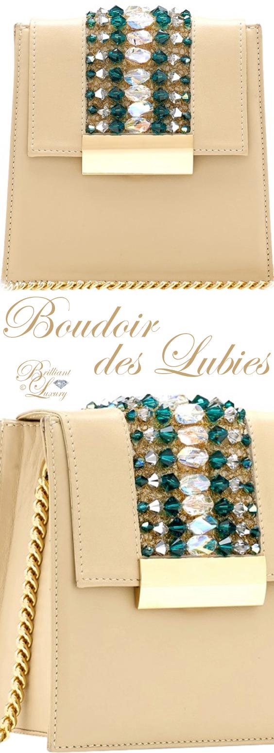 Brilliant Luxury ♦ Boudoir des Lubies Paris ~ Capucine Bag with Swarovski Crystals FW 2017/18