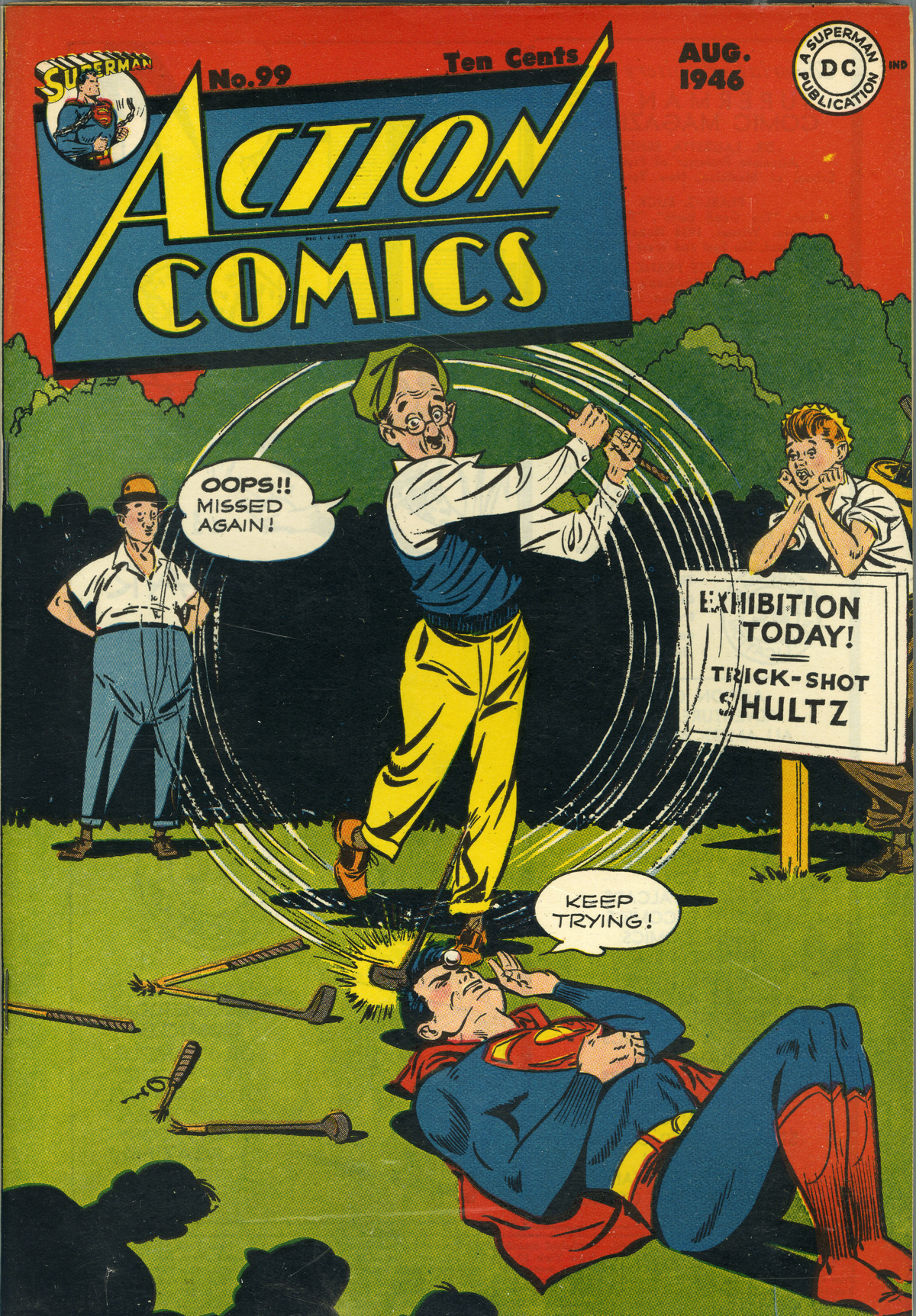 Read online Action Comics (1938) comic -  Issue #99 - 1
