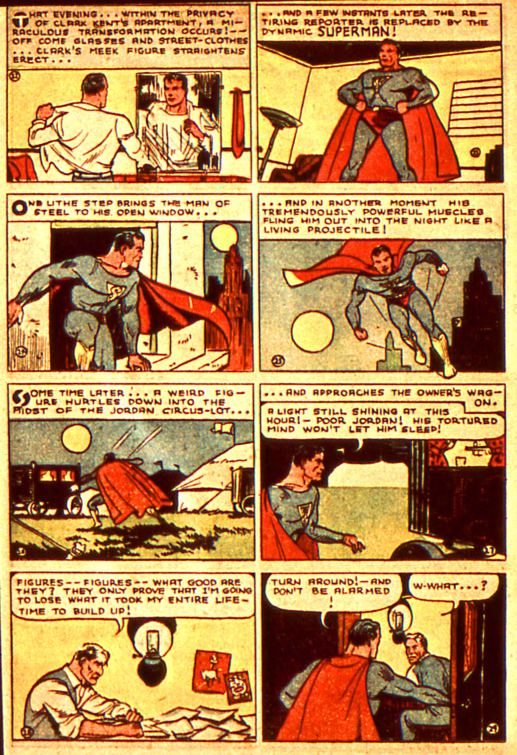 Read online Action Comics (1938) comic -  Issue #7 - 7