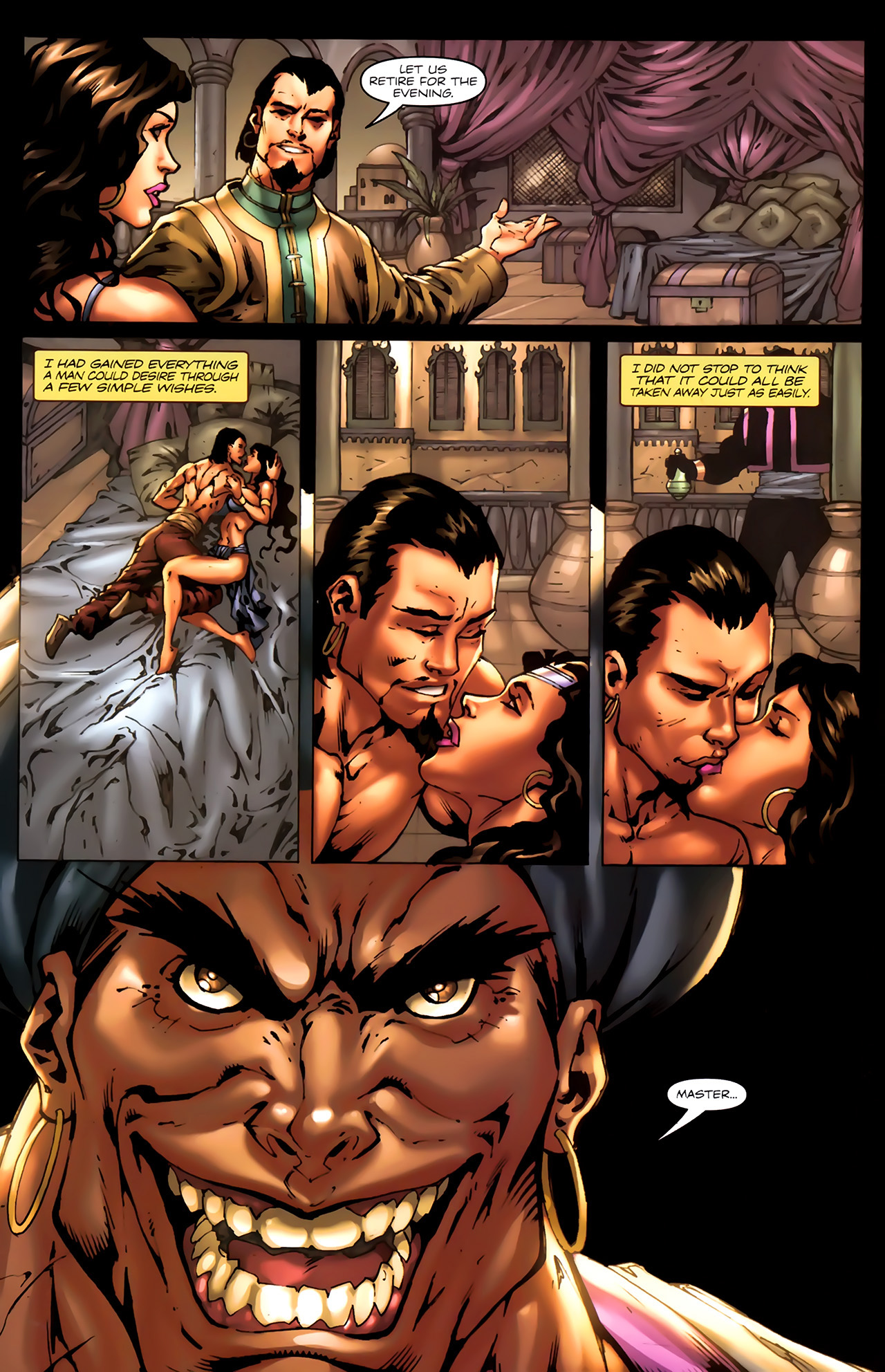 Read online 1001 Arabian Nights: The Adventures of Sinbad comic -  Issue #7 - 20