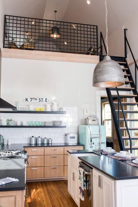 Kitchen loft decoration