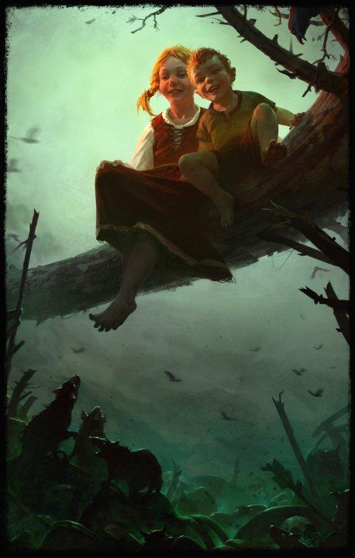 Alexandr Leskinen artstation arte ilustrações fantasia ficção games