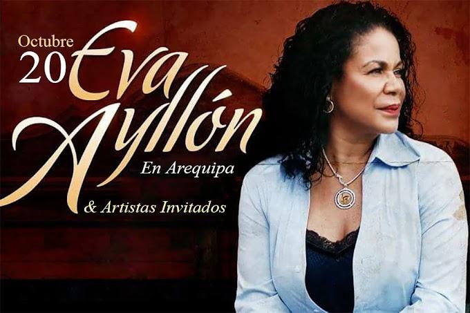 Eva Ayllón en Arequipa - 20 de octubre