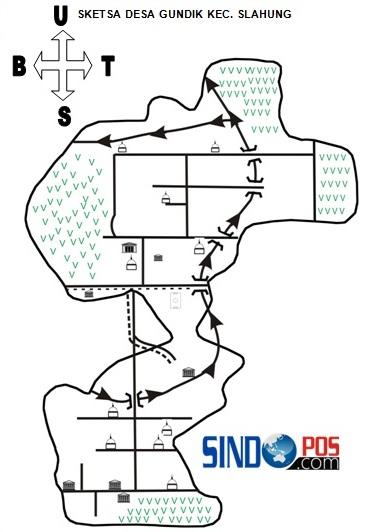 Profil Desa & Kelurahan, Desa Gundik Kecamatan Slahung Kabupaten Ponorogo