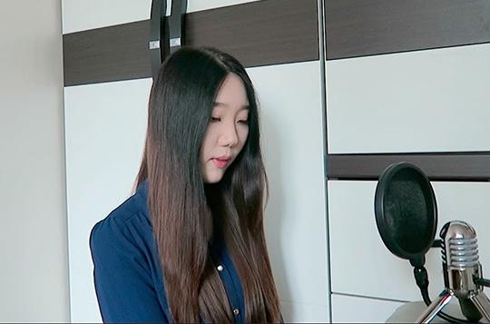 Lirik Lagu Akad Versi Korea - Priscilla Lee