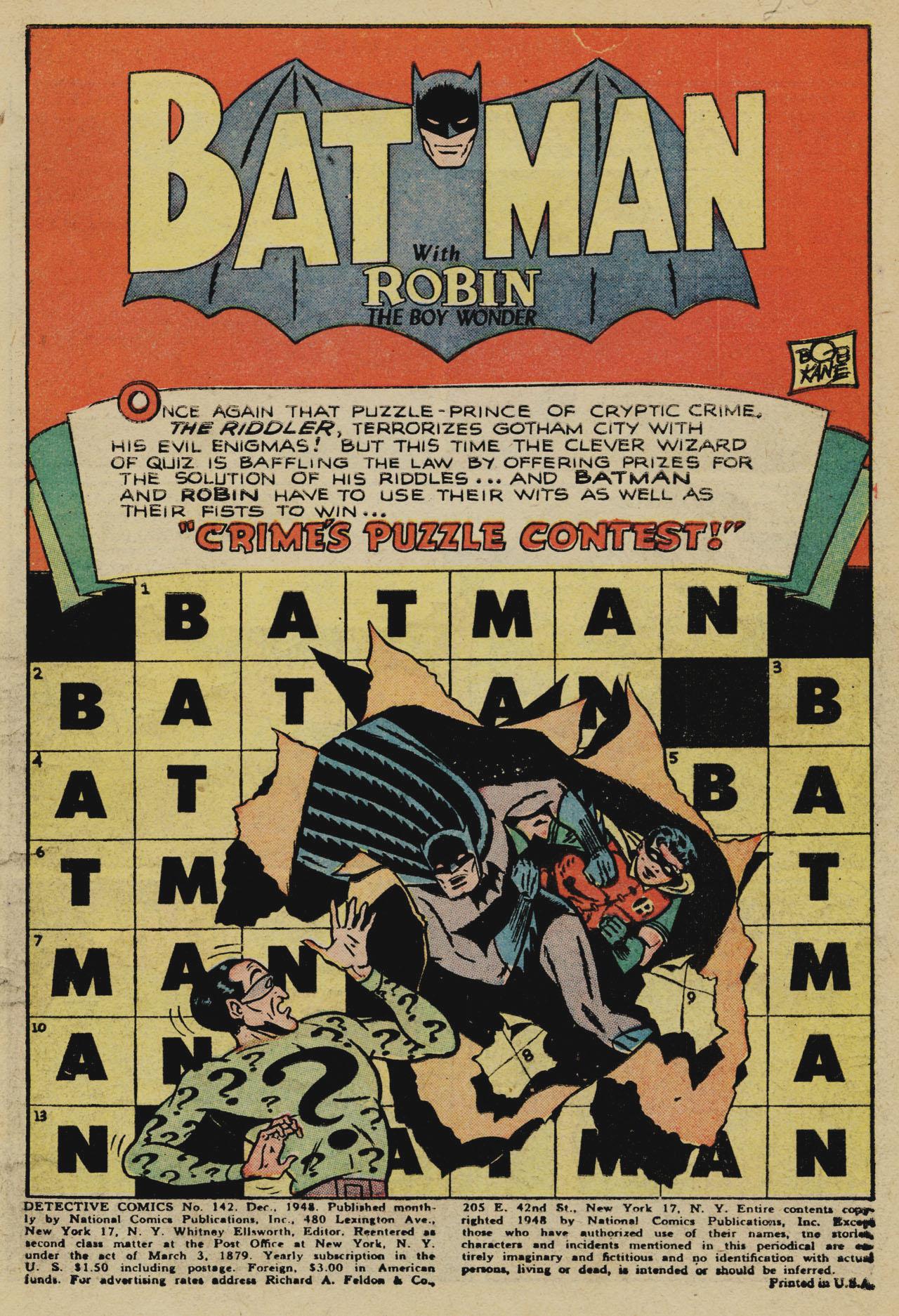 Detective Comics (1937) 142 Page 2