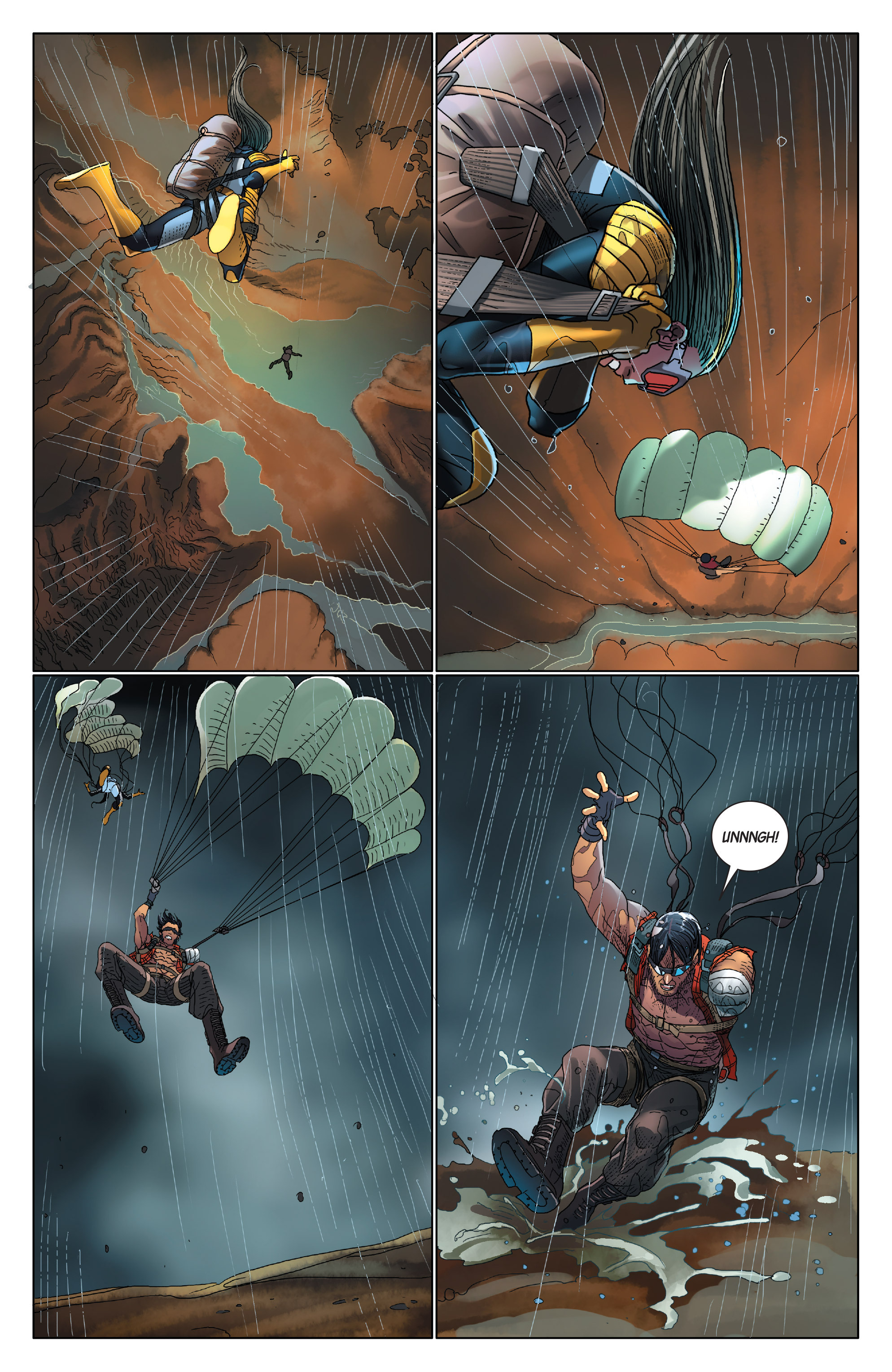 Read online Wolverines comic -  Issue #14 - 8
