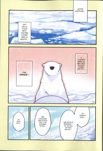 "page de ""POLAR BEAR IN LOVE T1"" de Koromo chez Soleil manga"