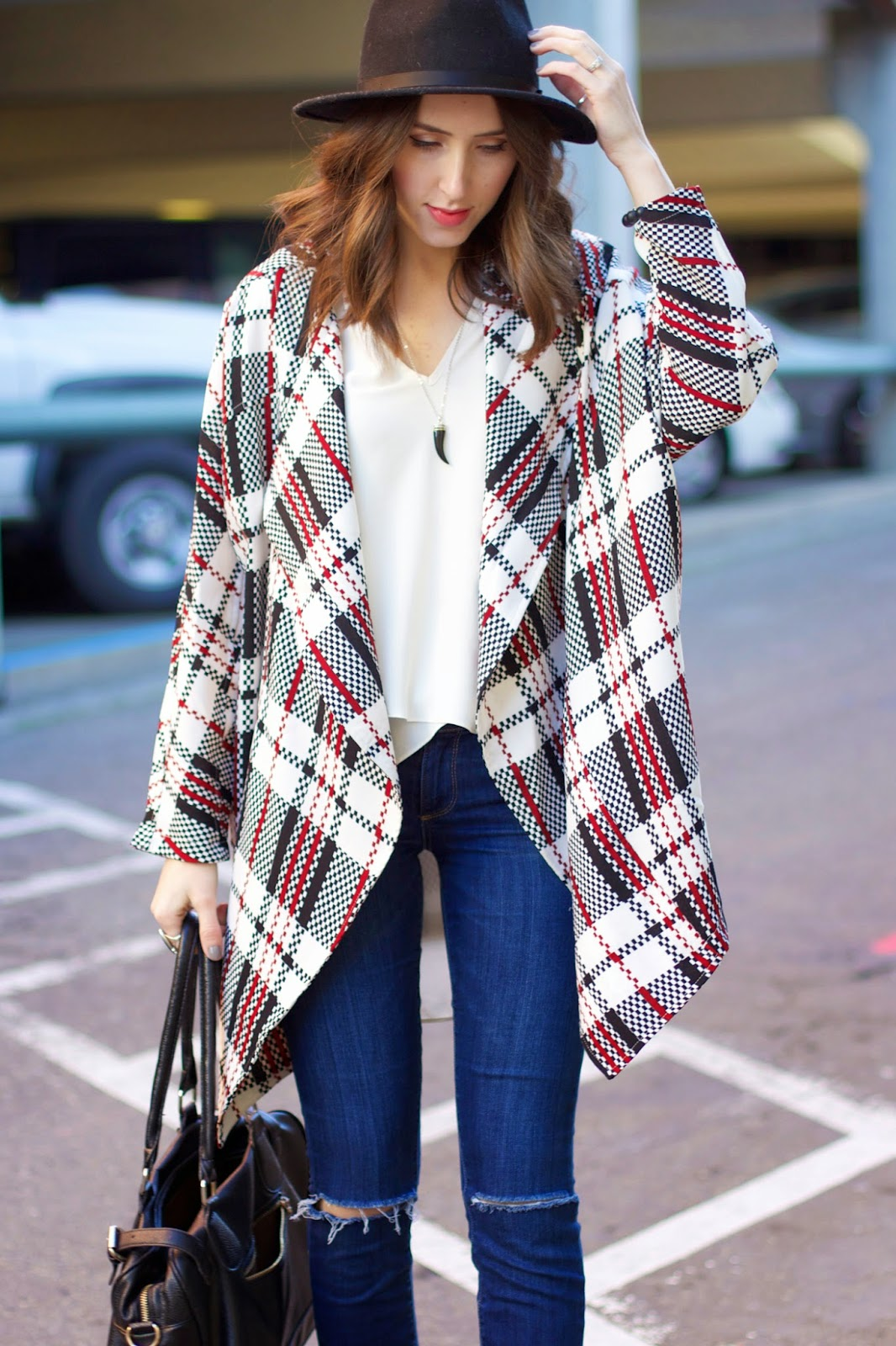 how-to-style-a-plaid-jacket