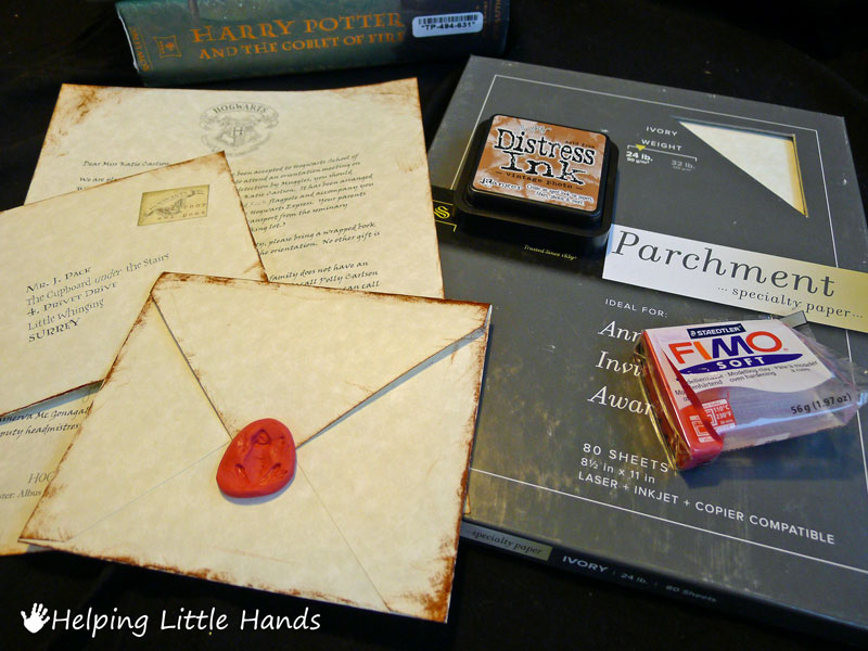 how to make a letter look old pieces by polly printable hogwarts acceptance letters or 22325