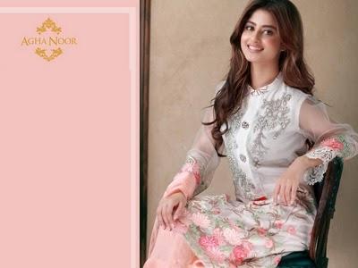 424dd3f32c Agha Noor Luxury Kurtas Collection 2016-2017   Agha Noor Store Karachi