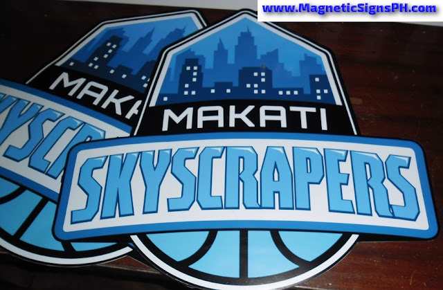 Die Cut Logo Magnets - Makati Skyscrapers