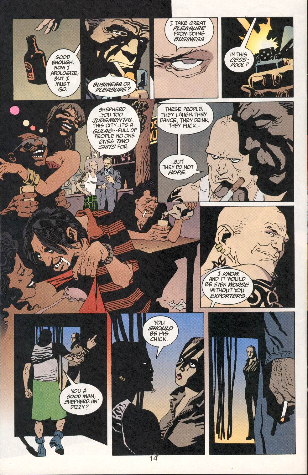 Read online 100 Bullets comic -  Issue #29 - 15