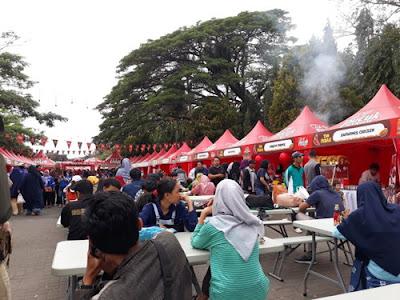 pucuk coolinary festival. Festival kuliner terbesar di kota malang