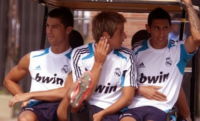 Real Madrid Ready for the Match Against the Galaxy