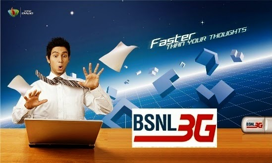 BSNL to extend the validity of Prepaid 3G Data STVs up to 100 percent, launches New 3G Data STV with Unlimited Free Local, STD and Roaming Outgoing Calls
