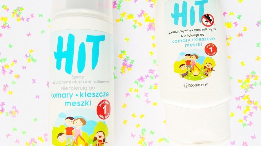 Kosmed • HIT, Żel i Spray z naturalnymi olejkami roślinnymi na komary, kleszcze i meszki