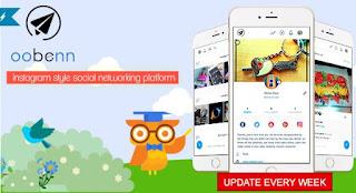 Download oobenn Instagram Style Social Networking Script v1.2.1