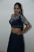 Ruchi Pandey in Blue Embrodiery Choli ghagra at Idem Deyyam music launch ~ Celebrities Exclusive Galleries 009.JPG