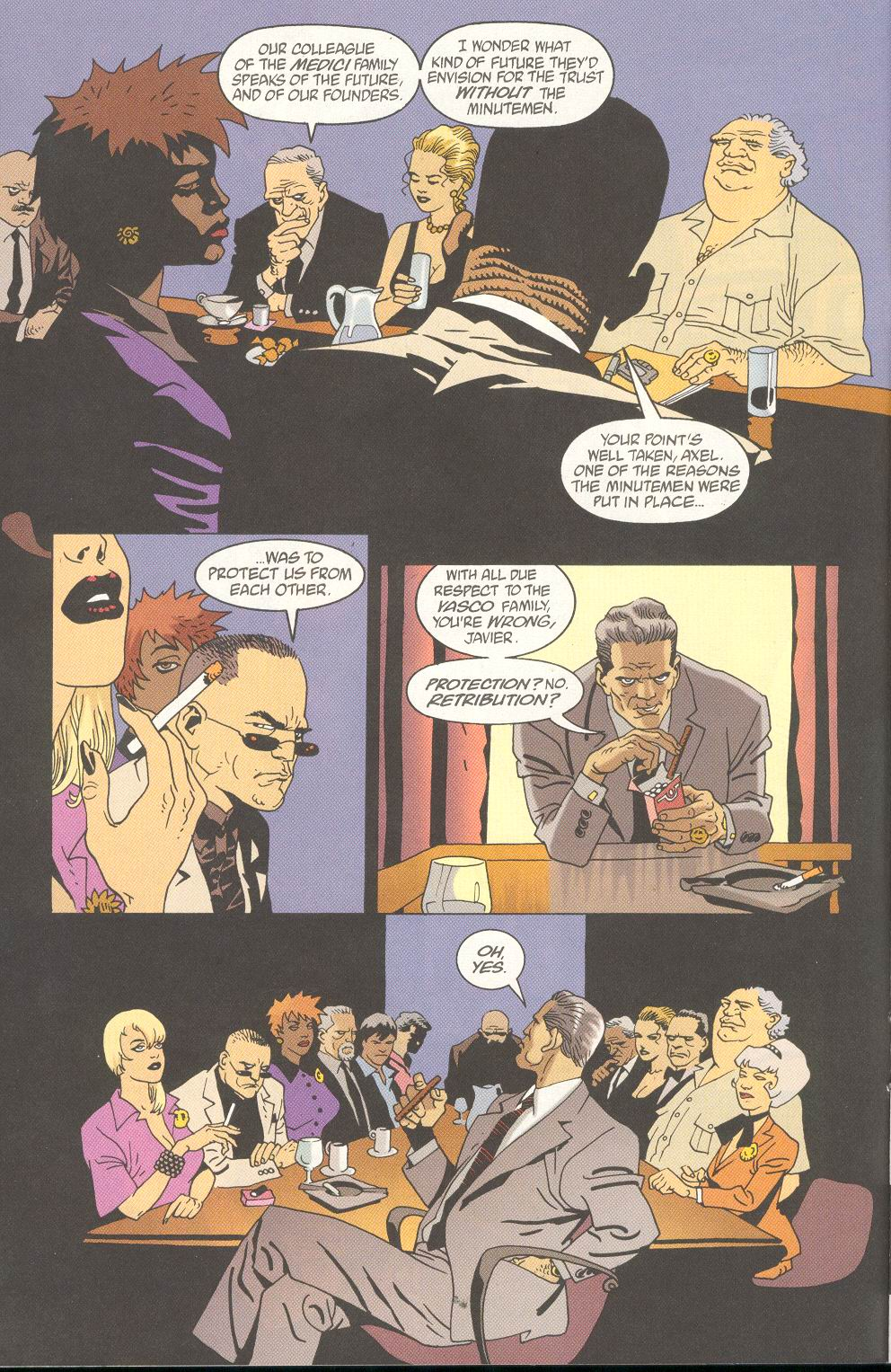 Read online 100 Bullets comic -  Issue #25 - 8