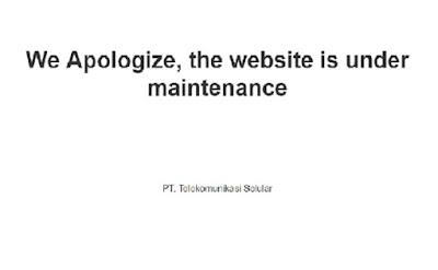 tanggapan dari telkomsel tentang situs mereka di retes kemarin