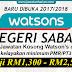 [Terkni] Ratusan Jawatan Kosong Watson's di Sabah!