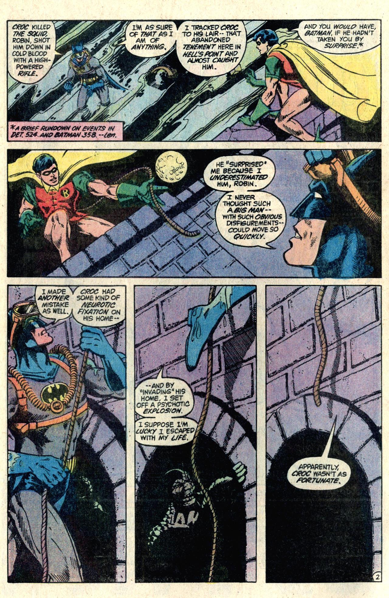 Detective Comics (1937) 525 Page 3