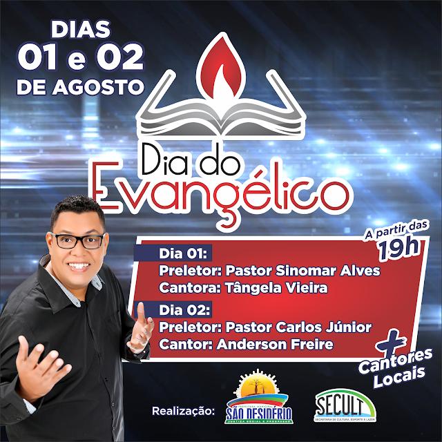 Prefeitura de São Desidério realizará o Dia do Evangélico com programação especial