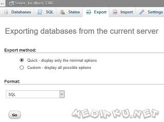 Cara Backup Database SQL