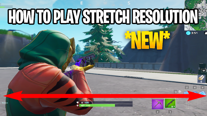 How to play Stretch Resolution in Fortnite after the V8.50 UPDATE!